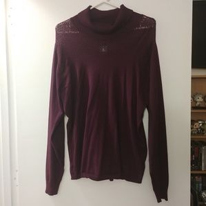 Maurices Purple Sweater